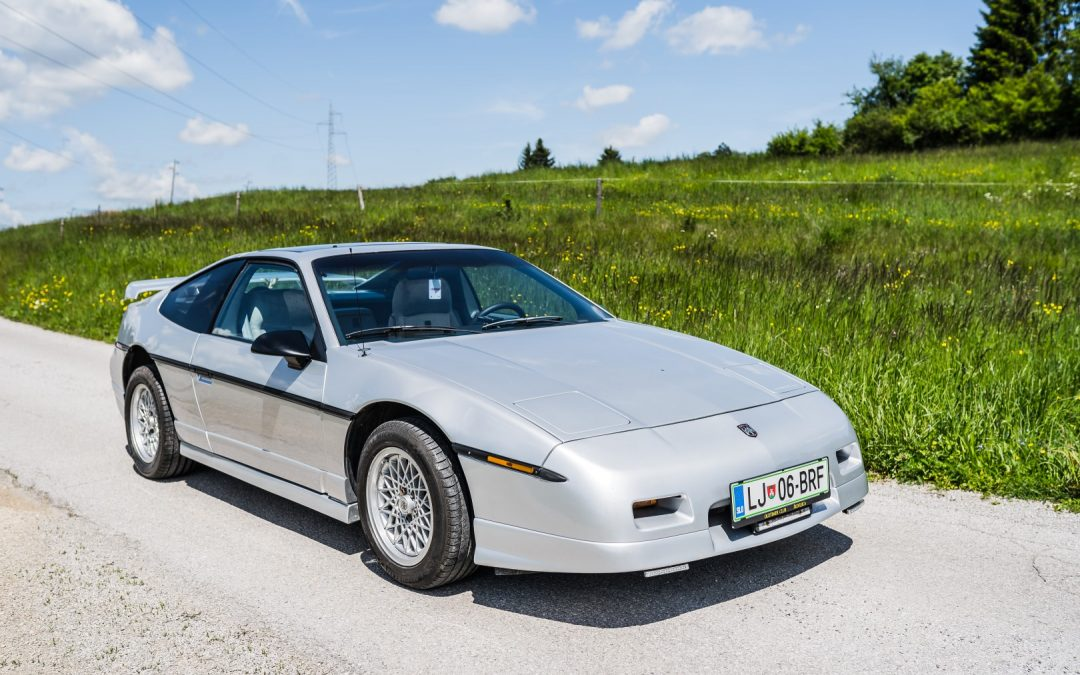Pontiac Fiero GT – pravi oldtimer!