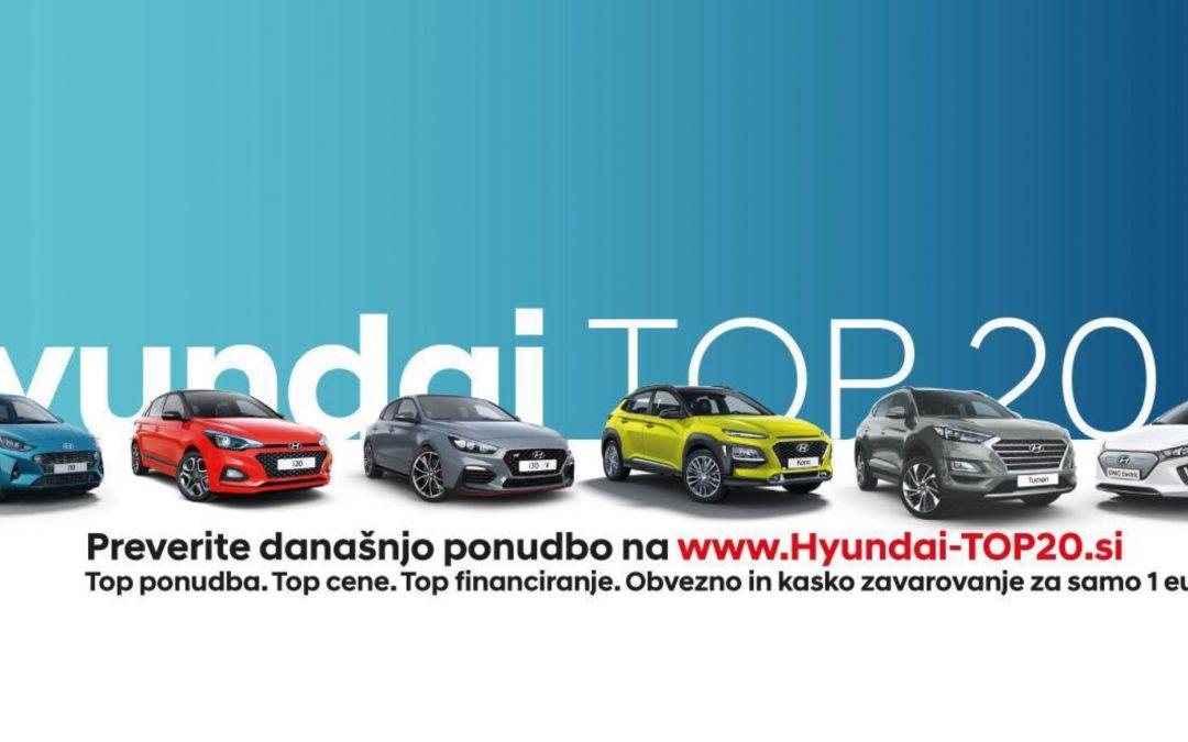 Hyundaijevih top 20 vozil tega tedna!