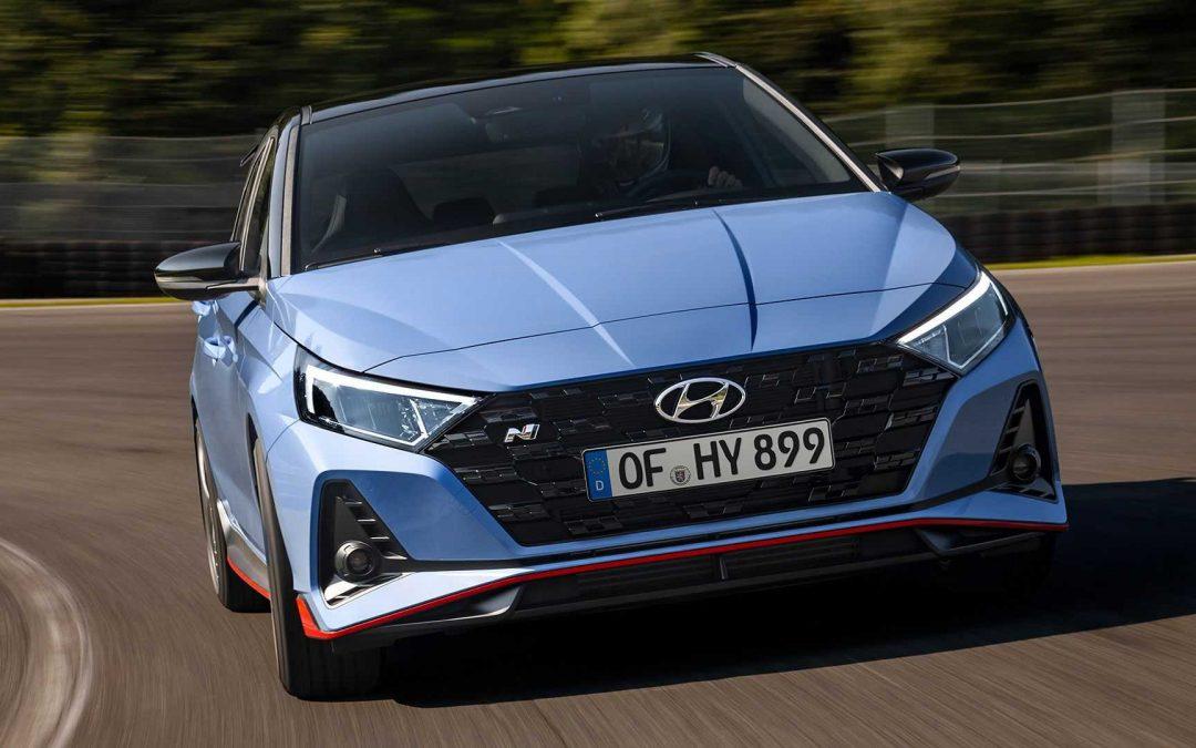 NOVOST: novi Hyundai i20 N in i20 N-Line