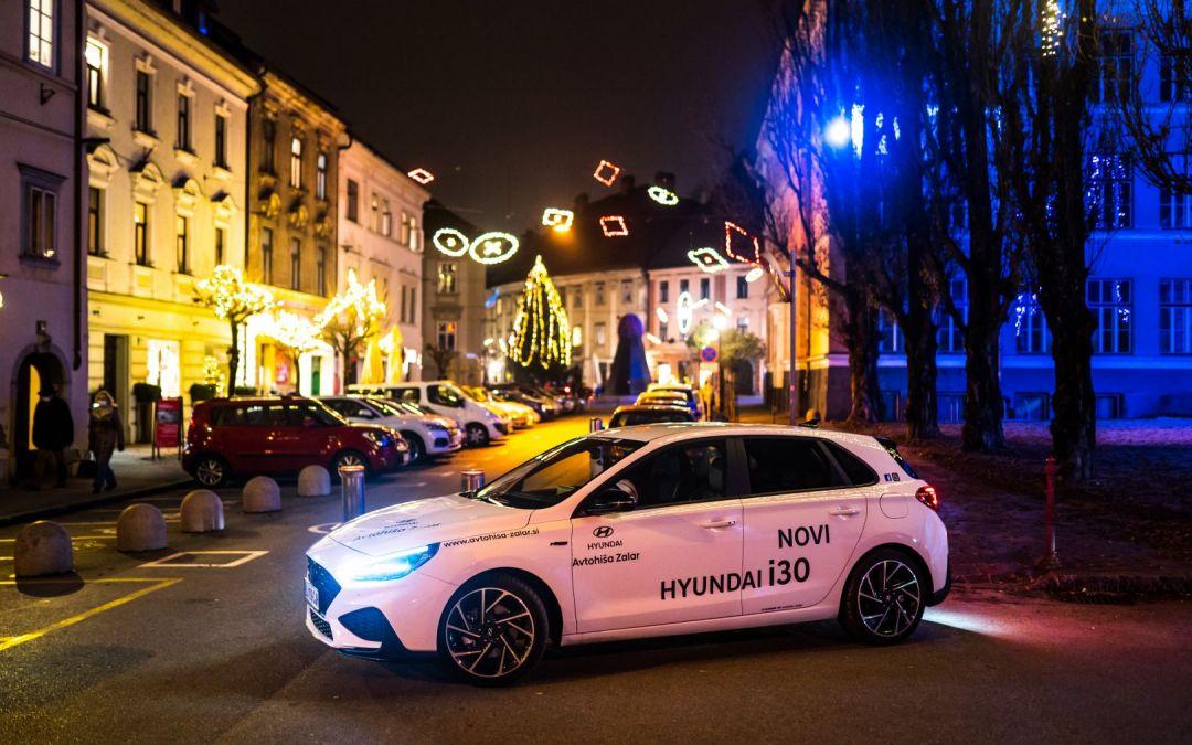 Čudovite praznike vam voščimo s čudovito galerijo Hyundai i30 N Line!