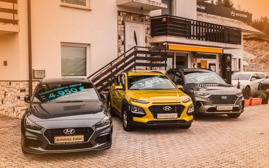 Ujemite enkratno priložnost – veliki popusti za malorabljena vozila!