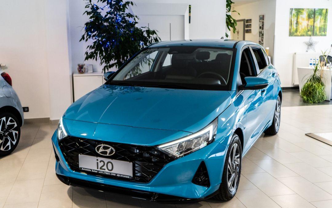 Novi Hyundai i20 2021 – že v salonu!
